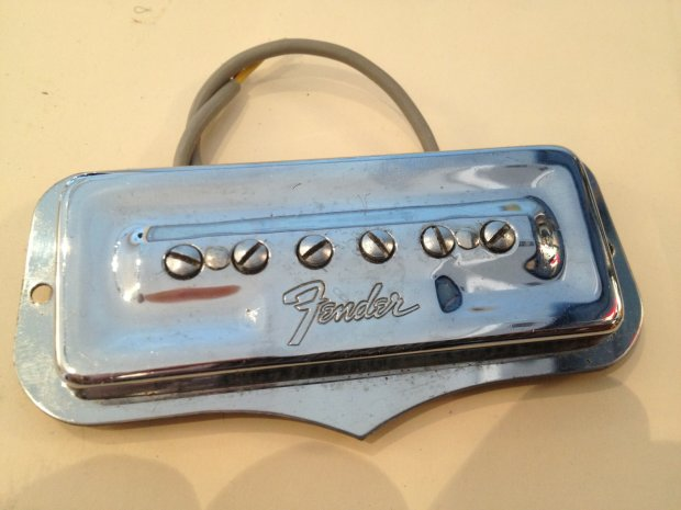 Vintage Fender Coronado Pickups, black or steel ... on