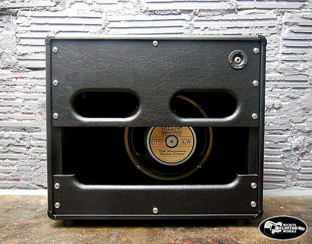 tophat top hat amplifiers supreme 16 head with 1x12 speaker cabinet black and cream reverb. Black Bedroom Furniture Sets. Home Design Ideas
