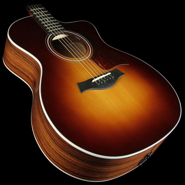 taylor 214ce sb rw grand auditorium acoustic electric guitar tobacco sunburst reverb. Black Bedroom Furniture Sets. Home Design Ideas