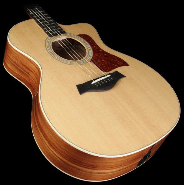 taylor 214ce k koa grand auditorium acoustic electric guitar natural reverb. Black Bedroom Furniture Sets. Home Design Ideas
