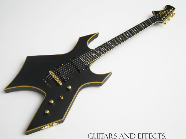 bc rich pro x warlock shadow bc rich guitar neck through price reduced reverb. Black Bedroom Furniture Sets. Home Design Ideas