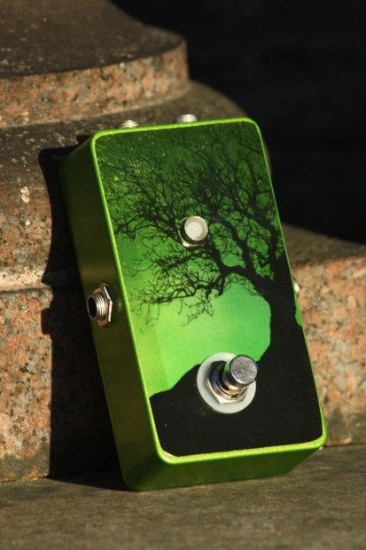 millipede fx guitar loop pedal true bypass 39 moondance 39 green reverb. Black Bedroom Furniture Sets. Home Design Ideas