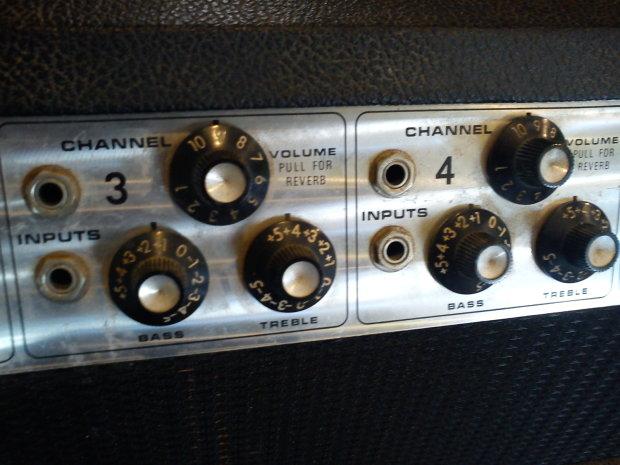 1977 Fender Pa135 Cfa7310 Vintage Silverface Tube Amp