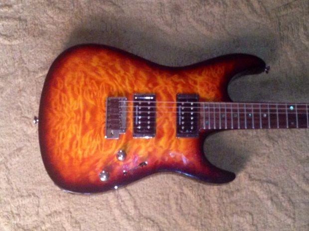fender showmaster neckthru stratocaster electric guitar seymour duncan pickups reverb. Black Bedroom Furniture Sets. Home Design Ideas