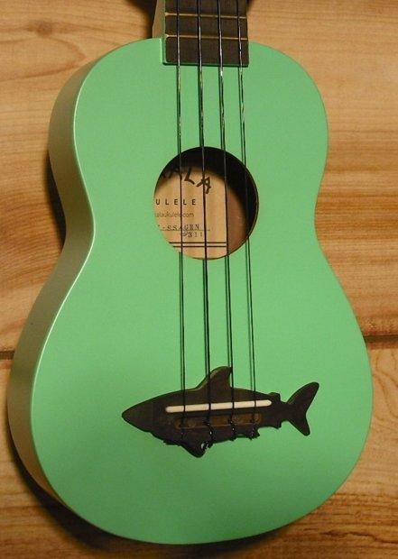 Kala makala series mk ss soprano ukulele surf green reverb for Porte ukulele