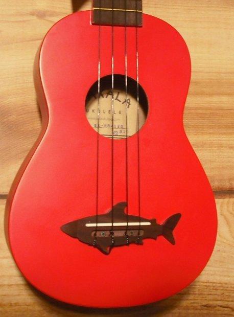 Kala makala series mk ss soprano ukulele red reverb for Porte ukulele