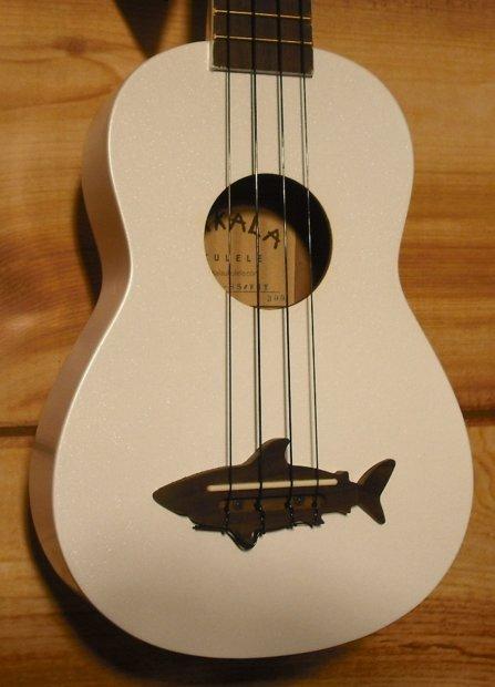 Kala makala series mk ss soprano ukulele great white reverb for Porte ukulele