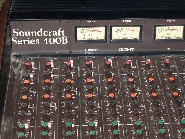 Soundcraft 400b Reverb