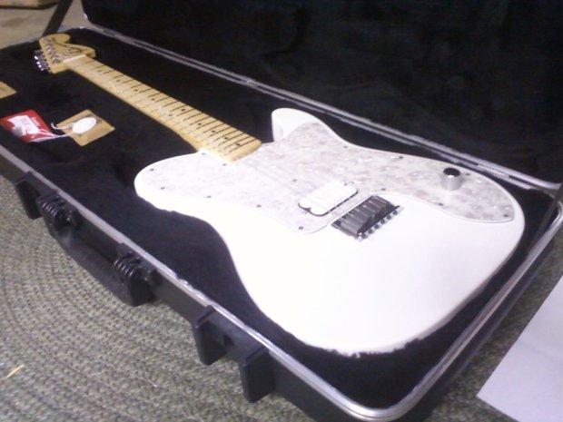Fender Telecaster Deluxe Chris Shiflett 2012 White | Reverb