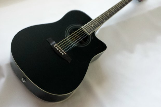 All About Amazoncom Ibanez V70ce Acousticelectric Guitar Black Www
