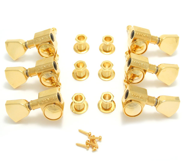 grover rotomatic gold tuners for gibson les paul epiphone style reverb. Black Bedroom Furniture Sets. Home Design Ideas