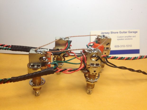 Gibson les paul push pull wiring harness tone jimmy