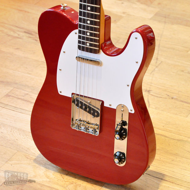 Fender Muddy Waters Telecaster Custom 2002 Candy Apple Red ...