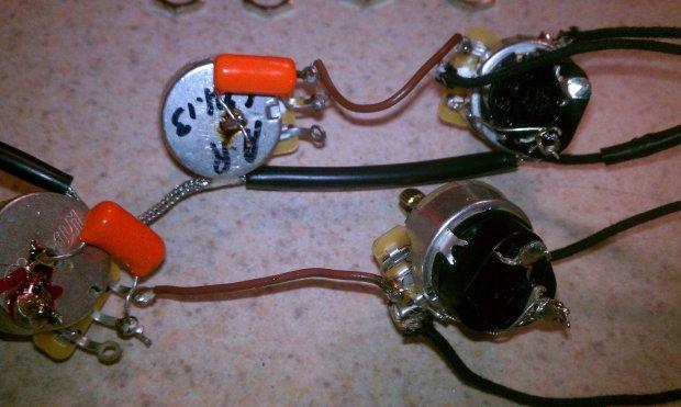 Gibson es sg coils split wiring harness