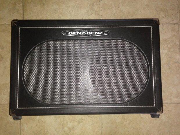 genz benz black pearl 2x12 guitar cabinet open back eminence red fang speakers reverb. Black Bedroom Furniture Sets. Home Design Ideas
