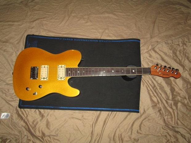 fender fsr custom telecaster hh electric guitar with dimarzio pickups gold 2013 gold reverb. Black Bedroom Furniture Sets. Home Design Ideas