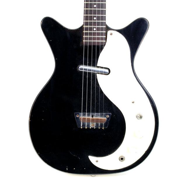 vintage 1960s danelectro short horn standard model electric guitar reverb. Black Bedroom Furniture Sets. Home Design Ideas