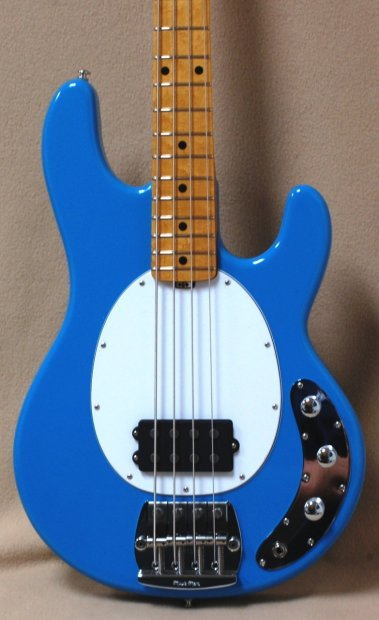 music man classic stingray 4 electric bass guitar in diego blue reverb. Black Bedroom Furniture Sets. Home Design Ideas
