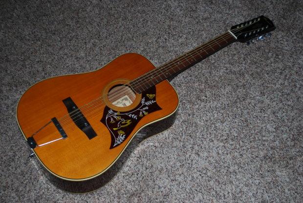 vintage matador tw 13 12 string acoustic dreadnought guitar reverb. Black Bedroom Furniture Sets. Home Design Ideas