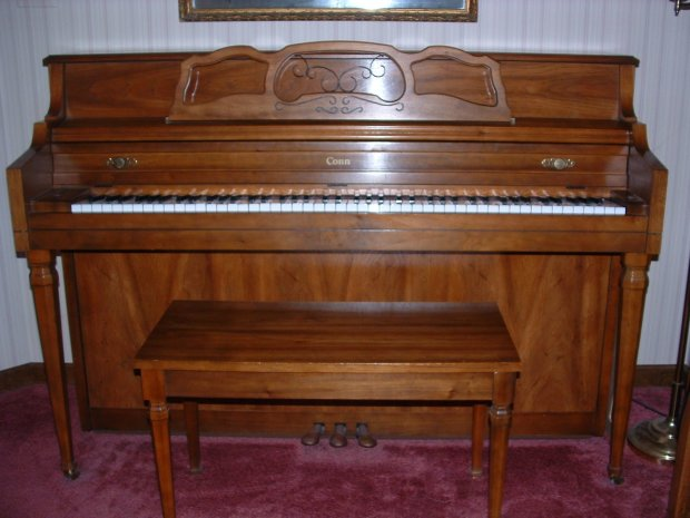 Conn A145 Upright Acoustic Piano Reverb