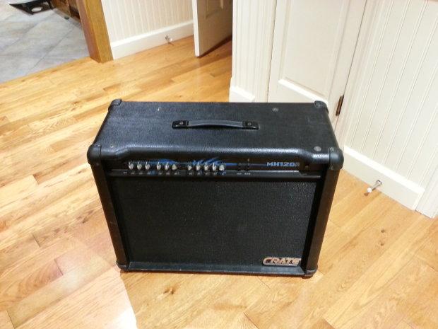 Crate Mx120r 2x12 Quot Electric Guitar Amp 120 Watt Solid