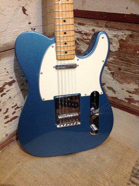 fender standard telecaster electric guitar lake placid blue reverb. Black Bedroom Furniture Sets. Home Design Ideas