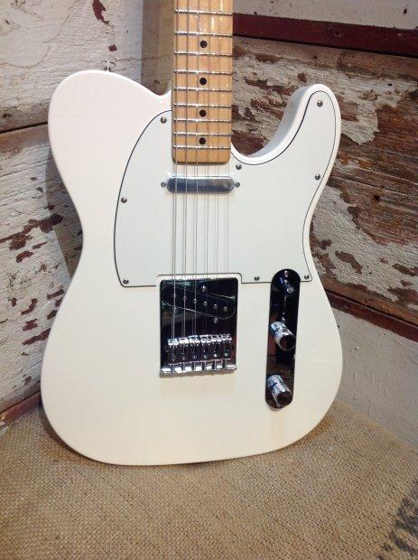 fender standard telecaster electric guitar arctic white reverb. Black Bedroom Furniture Sets. Home Design Ideas