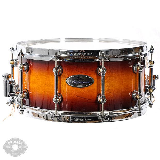 pearl reference pure snare drum vintage tobacco burst reverb. Black Bedroom Furniture Sets. Home Design Ideas