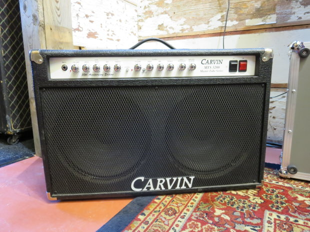 carvin mts 3200 master tube series 50th ann edition 2x12 guitar combo amp reverb. Black Bedroom Furniture Sets. Home Design Ideas