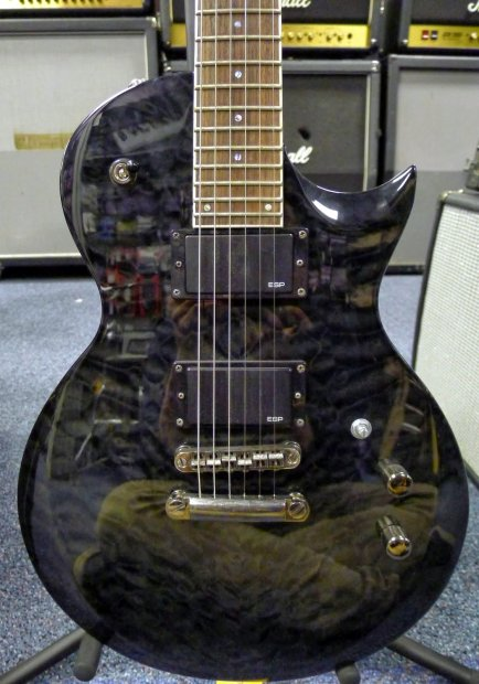 esp ltd ec 200qm electric guitar free shipping ec 200 ec200qm qm reverb. Black Bedroom Furniture Sets. Home Design Ideas