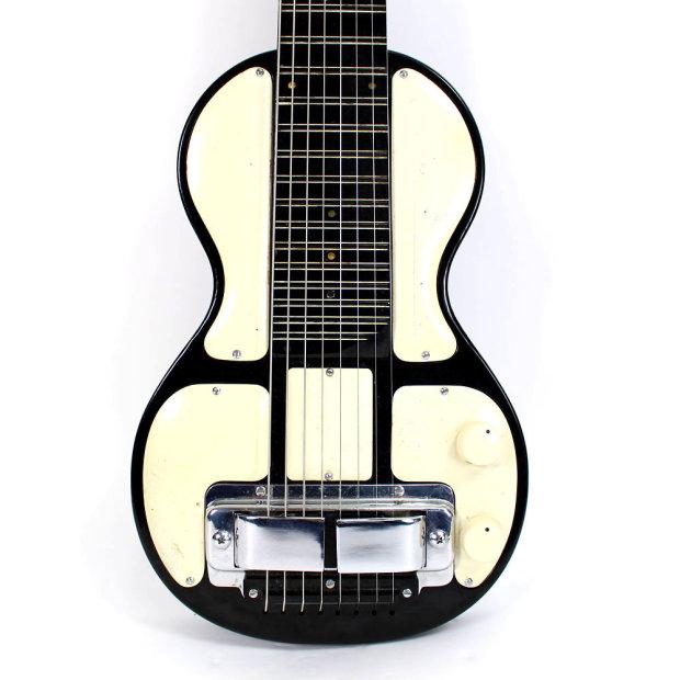 vintage 1940s rickenbacker ric model b electro 8 string lap steel electric guitar very rare. Black Bedroom Furniture Sets. Home Design Ideas
