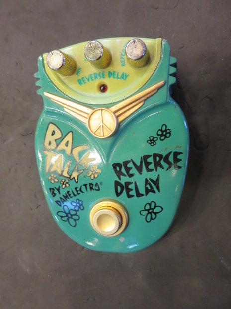 danelectro back talk reverse delay effect pedal reverb. Black Bedroom Furniture Sets. Home Design Ideas