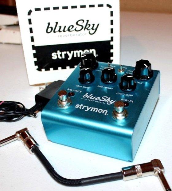 new strymon blue sky reverb pedal bluesky reverberator box adapter free patch cable reverb. Black Bedroom Furniture Sets. Home Design Ideas