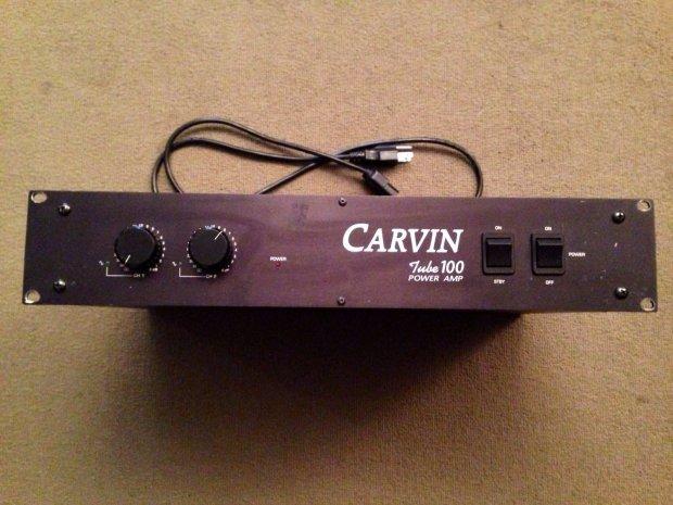 Carvin Tube 100 Watt Stereo Guitar Power Amp Reverb