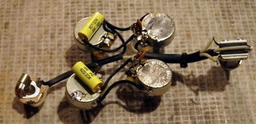 mojotone gibson sg pre wired wiring kit harness 50 s wiring reverb