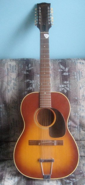 gibson b 25 12 acoustic 12 string guitar 1960s vintage great looks and sound reverb. Black Bedroom Furniture Sets. Home Design Ideas