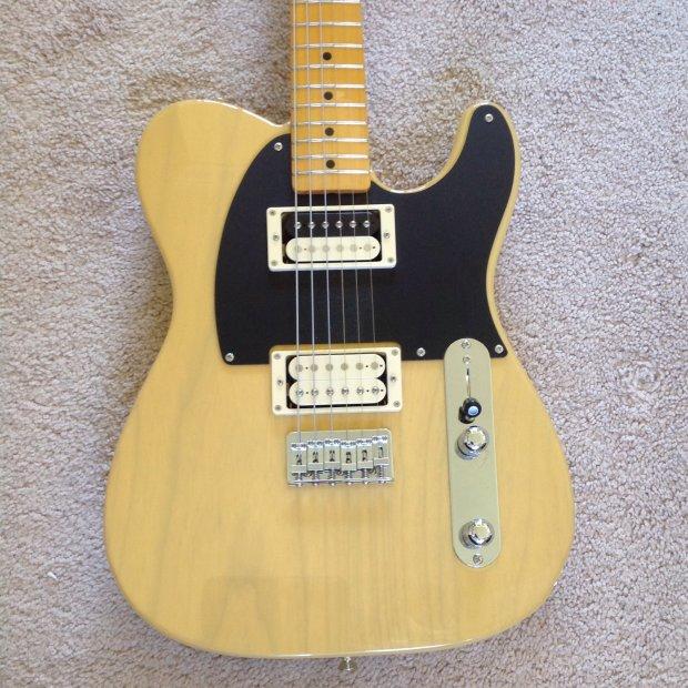 Fender Jaguar Sweetwater: Fender Telecaster Dual Humbuckers Made In Japan
