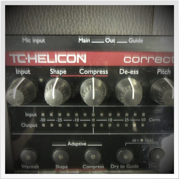 tc helicon voicetone correct vocal pedal black red price reduced reverb. Black Bedroom Furniture Sets. Home Design Ideas