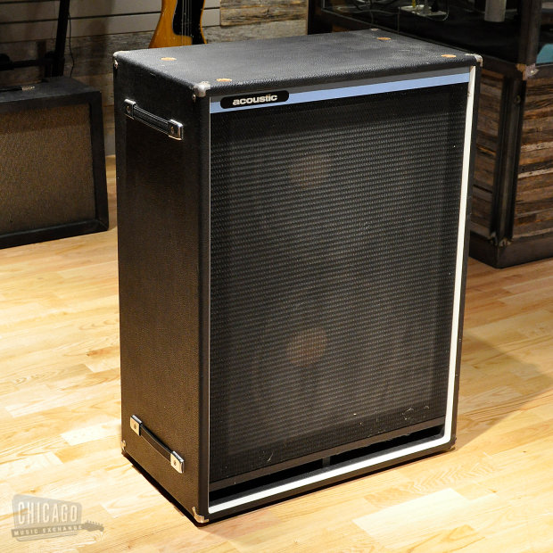 Acoustic 2x15 Bass Cabinet Used Reverb