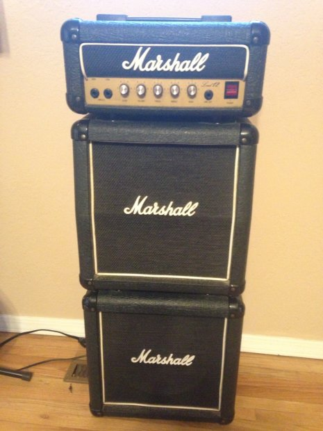 marshall lead 12 mini stack 1988 10 celestion made in england reverb. Black Bedroom Furniture Sets. Home Design Ideas