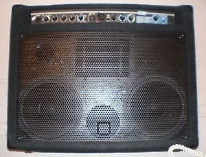yorkville am150 acoustic master combo amp w mic input great reverb. Black Bedroom Furniture Sets. Home Design Ideas