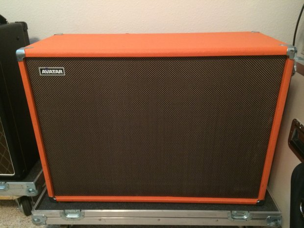 avatar cabinets avatar 2x12 guitar cabinet open back orange reverb 10801