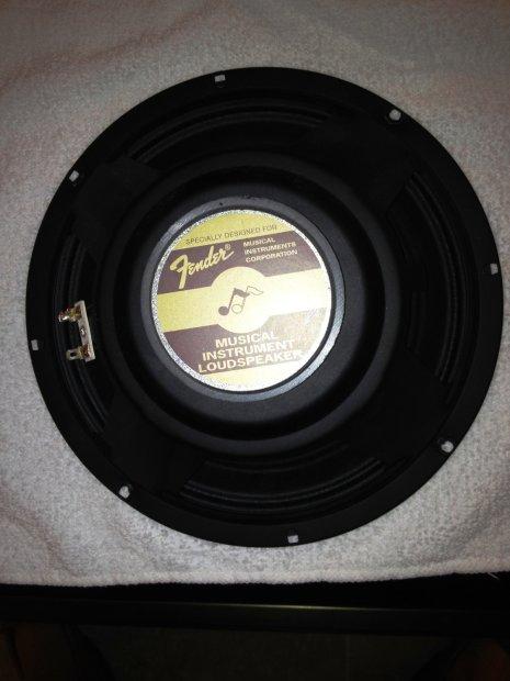 Fender 10 Inch 8 Ohm 30 Watt Speaker Reverb