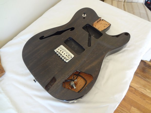 2012 fender modern player telecaster thinline deluxe p90 body switch pots reverb. Black Bedroom Furniture Sets. Home Design Ideas