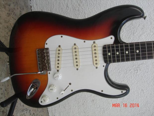Fender Stratocaster 62 Reissue Vintage St62 Japan Mij 1989