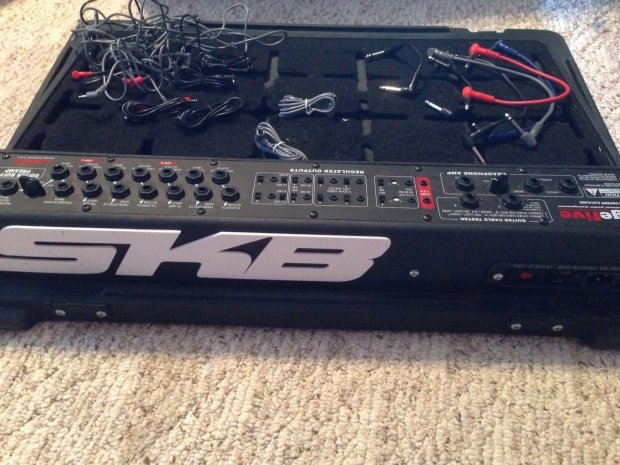Skb Stage Five Ps 55 Pedal Board Reverb