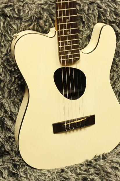 1987 kramer ferrington usa kft 2 vintage white tele acoustic electric guitar hdsc reverb. Black Bedroom Furniture Sets. Home Design Ideas