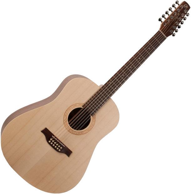 seagull excursion walnut 12 string acoustic guitar 2014 reverb. Black Bedroom Furniture Sets. Home Design Ideas