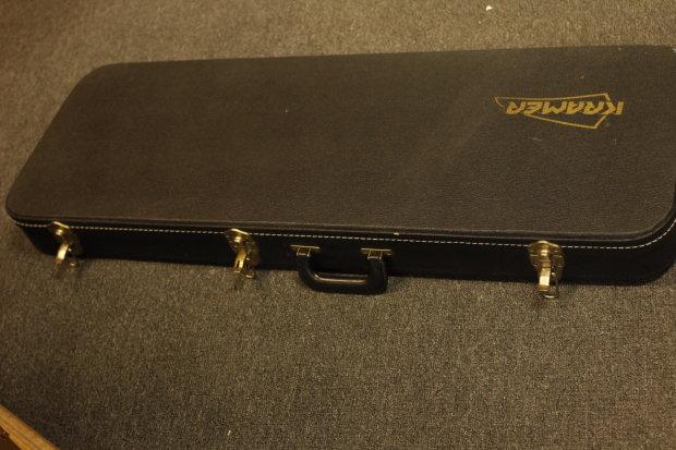 vintage kramer hardshell guitar case fits baretta ferrington reverb