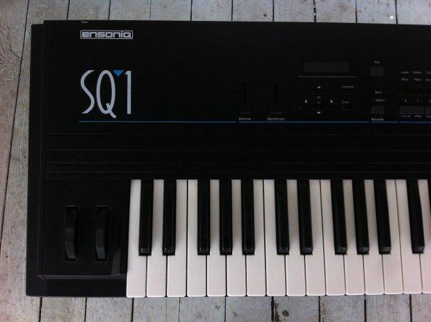 vintage rare ensoniq sq1 synthesizer workstation keyboard reverb. Black Bedroom Furniture Sets. Home Design Ideas